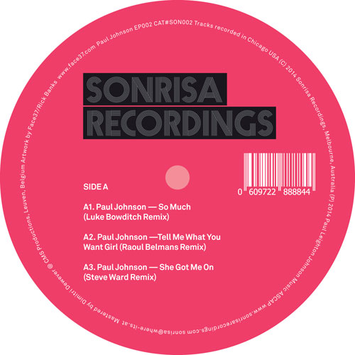 Paul Johnson/REMIXES EP 12""