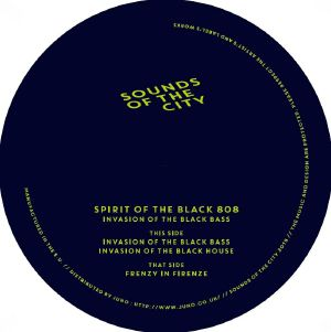 Spirit Of The Black 808/INVASION... 12""
