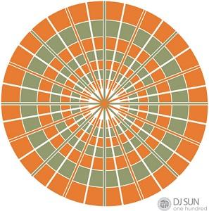 DJ Sun/ONE HUNDRED (GATEFOLD) LP