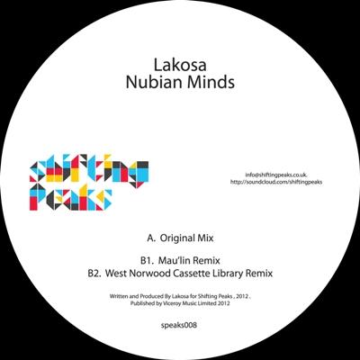 """Lakosa/NUBIAN MINDS 12"""""""