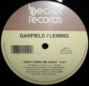 Garfield Fleming/DON'T SEND ME AWAY 12""