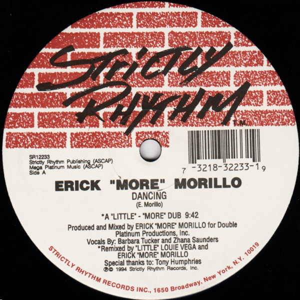 Erick 'More' Morillo/DANCING 12""