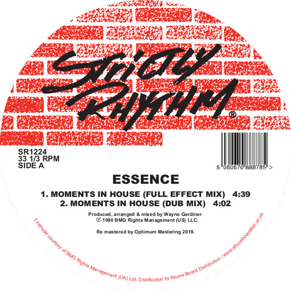 Essence/MOMENTS IN HOUSE 12""