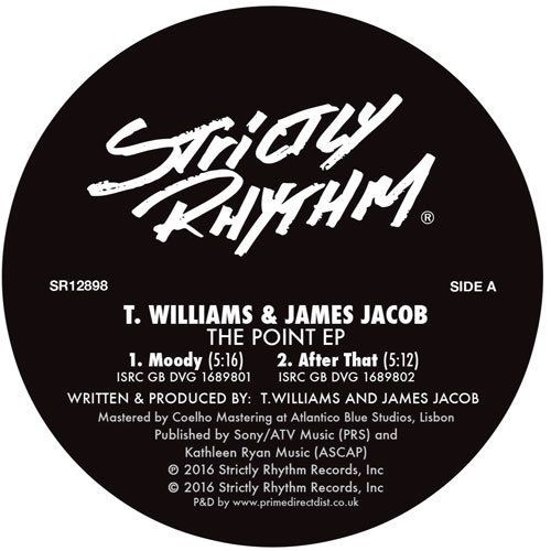 T. Williams & James Jacob/THE POINT 12""