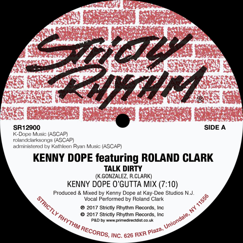 Kenny Dope/TALK DIRTY 12""