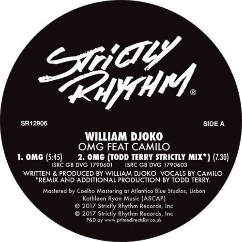 William Djoko/OMG (TODD TERRY RMX'S) 12""