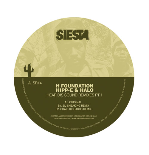 H Foundation/HEAR DIS SOUND RMX'S #1 12""