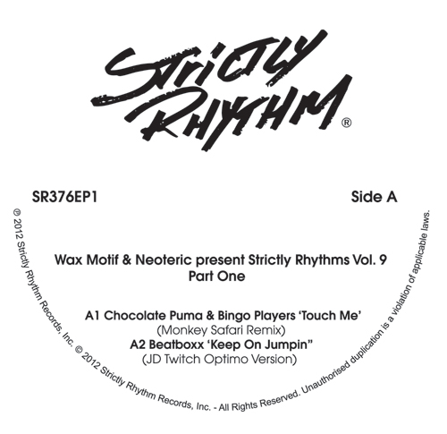 """Wax Motif & Neoteric/STRICTLY 9 #1 12"""""""