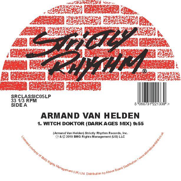 """Armand Van Helden/WITCH DOKTOR 2019 12"""""""