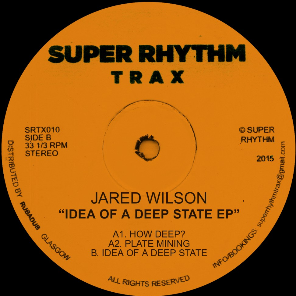 Jared Wilson/IDEA OF A DEEP STATE EP 12""