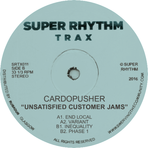Cardopusher/UNSATISFIED CUSTOMER... 12""