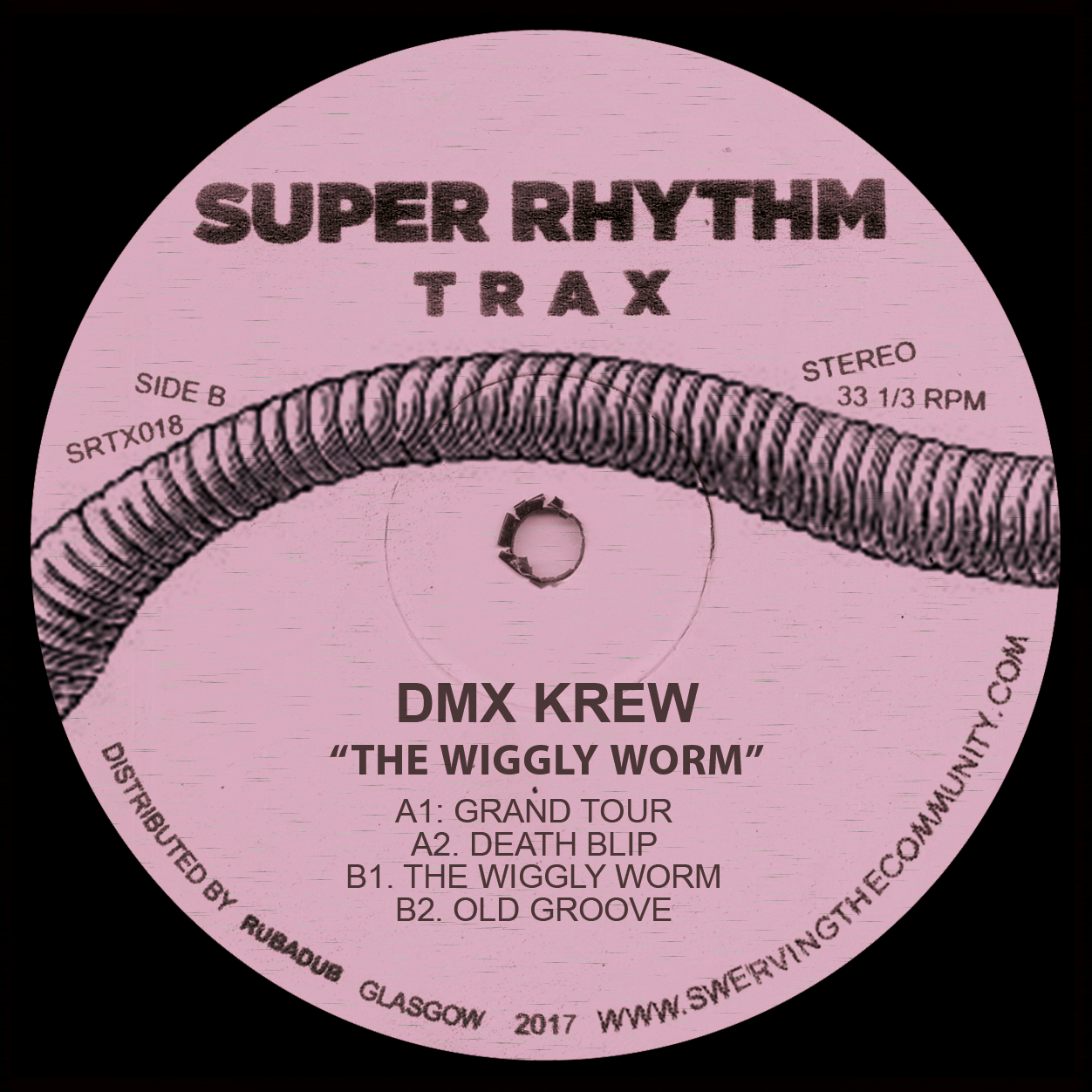 DMX Krew/THE WIGGLY WORM 12""