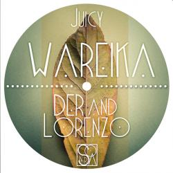 Der & Lorenzo/JUICY (WAREIKA REMIX) 12""