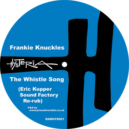 """Frankie Knuckles/WHISTLE SONG RE-RUB 12"""""""