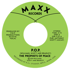 Prophets of Peace/P.O.P. 7""