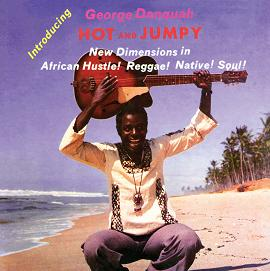 George Danquah/HOT AND JUMPY  LP