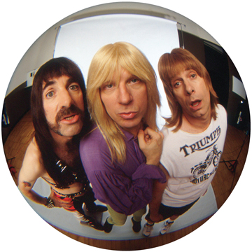 Spinal Tap/FISHEYE VIEW SLIPMAT