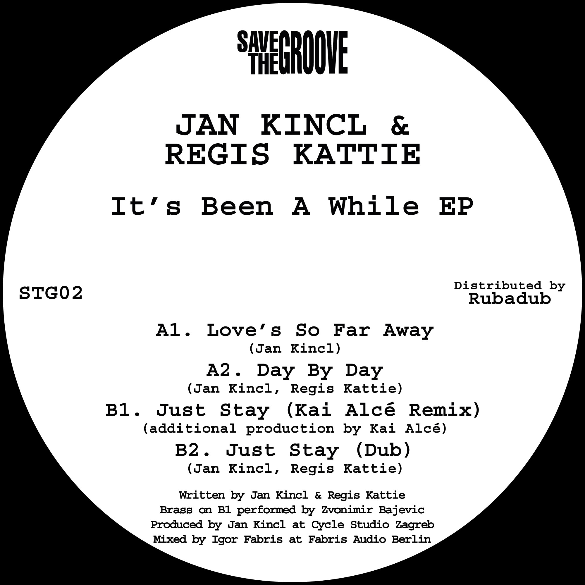 Jan Kincl & Regis Kattie/IT'S BEEN.. 12""
