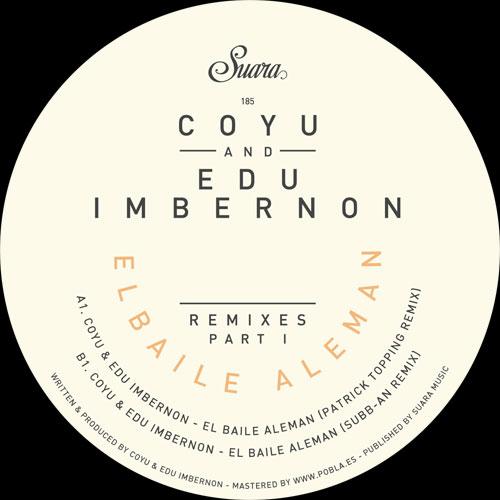 "Coyu & Ed Imbernon/EL BAILE RMX'S #1 12"""
