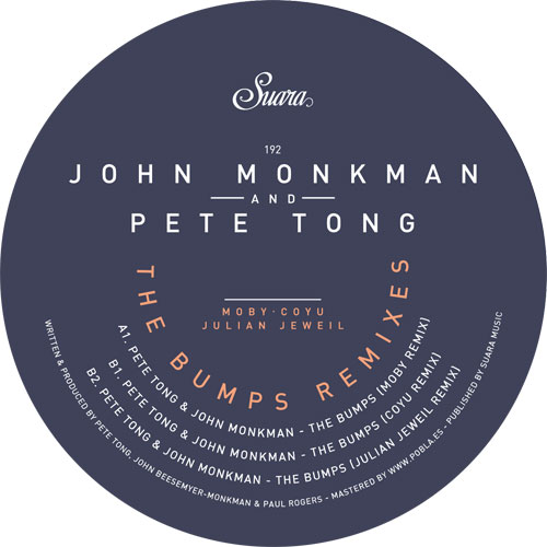 John Monkman/THE BUMPS (MOBY REMIX) 12""