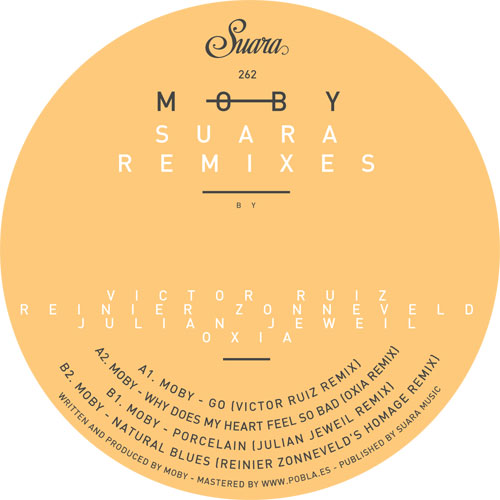 Moby/SUARA REMIXES 12""