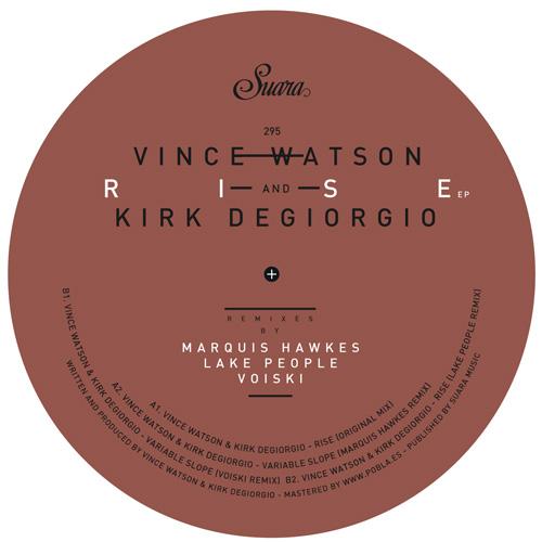 "Vince Watson & Kirk Degiorgio/RISE 12"""