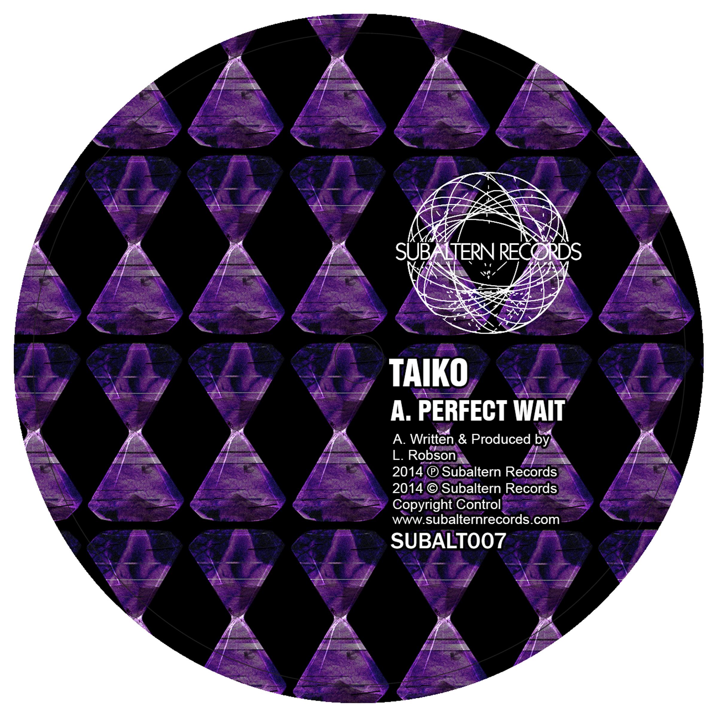"Taiko/PERFECT WAIT (BIOME REMIX) 12"""