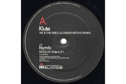 """Klute/WE R THE ONES-ULTERIOR MOTIVE 12"""""""