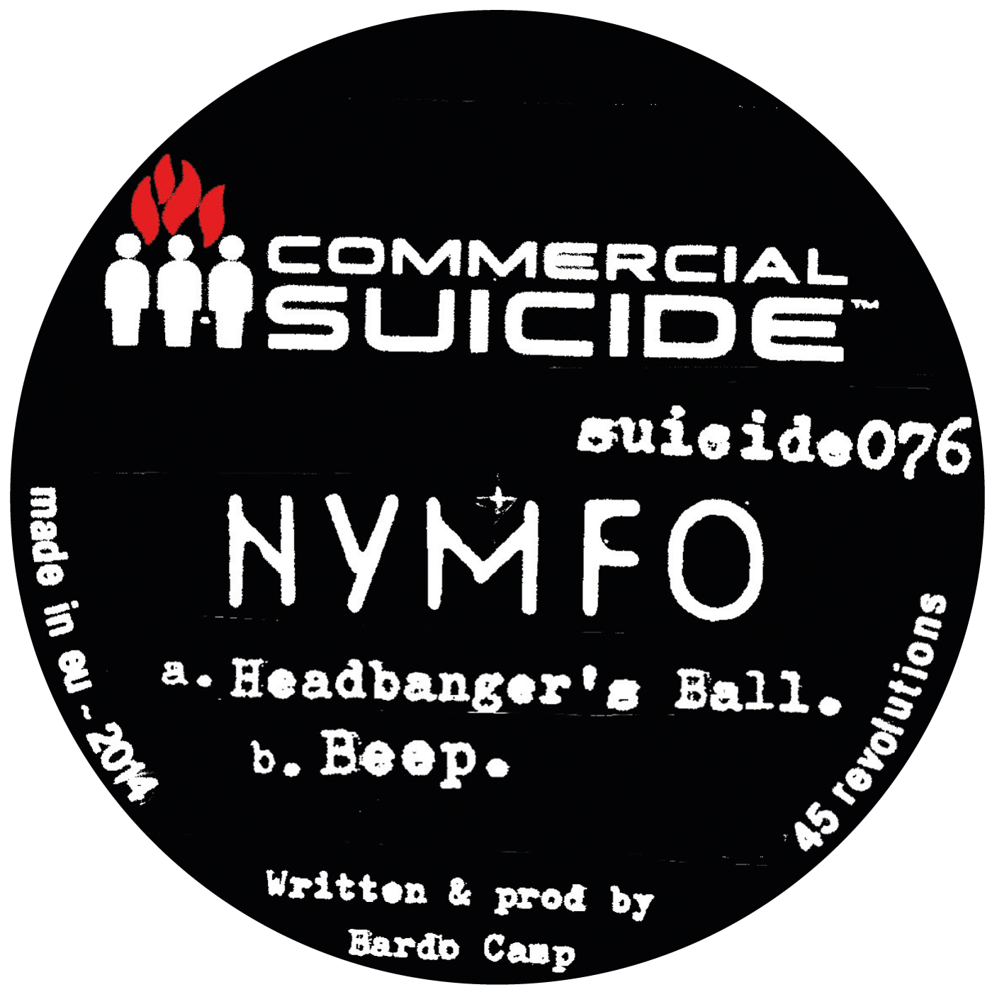 Nymfo/HEADBANGERS BALL 12""