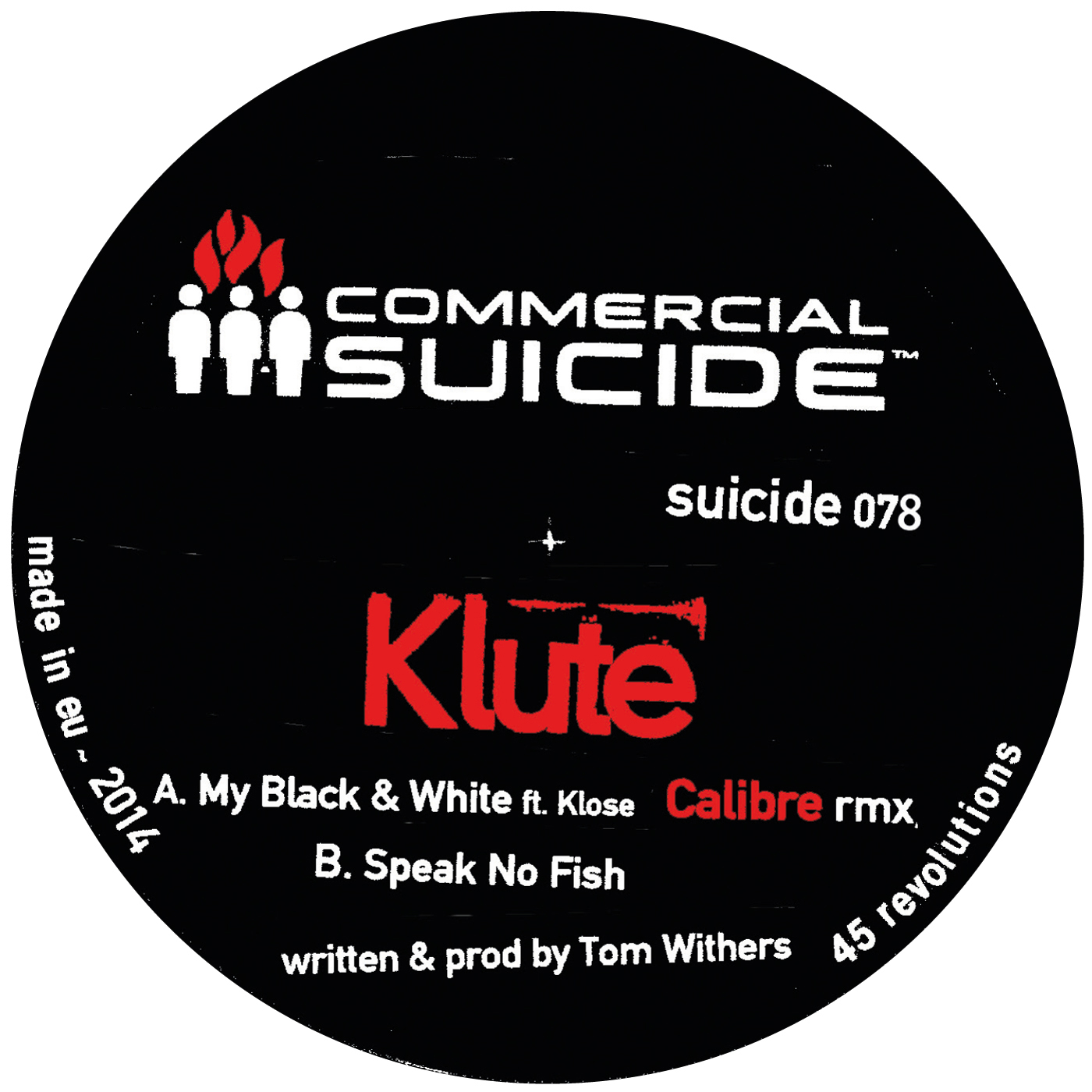 Klute/MY BLACK & WHITE (CALIBRE RMX) 12""