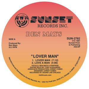 Ben Mays/LOVER MAN & JAILBAIT 12""