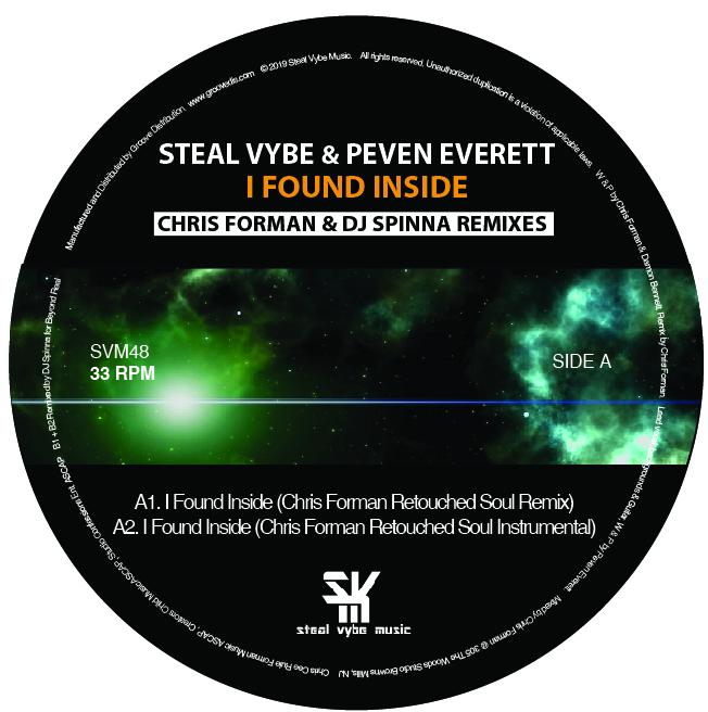 Peven Everett/I FOUND INSIDE REMIXES 12""