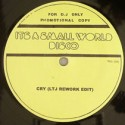 Small World Disco/EDITS #1 12""