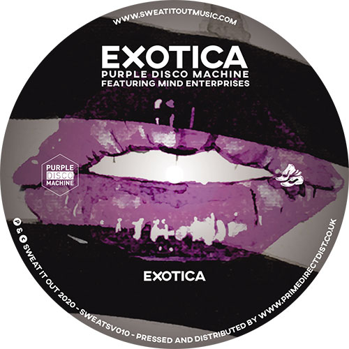 Purple Disco Machine/EXOTICA 12""