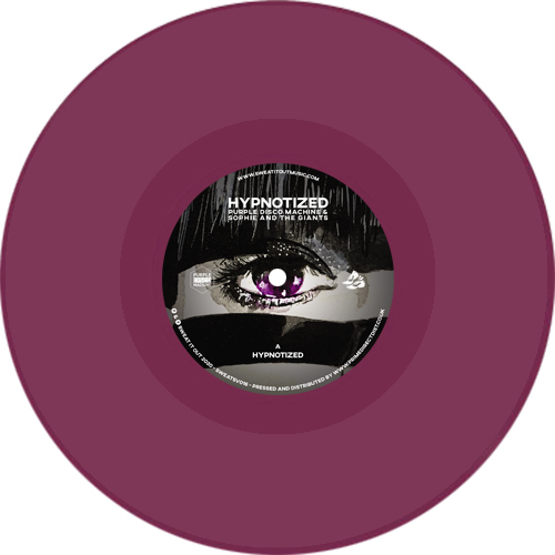 Purple Disco Machine/HYPNOTIZED (CV) 7""