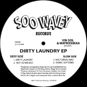 Vin Sol & Matrixxman/DIRTY LAUNDRY 12""