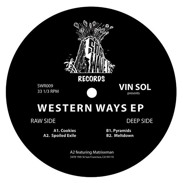 "Vin Sol/WESTERN WAYS EP 12"""
