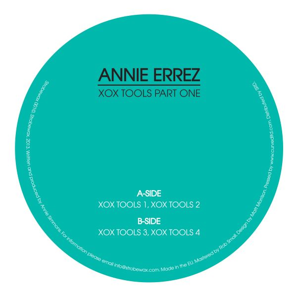 "Annie Errez/X0X TOOLS PART ONE 12"""