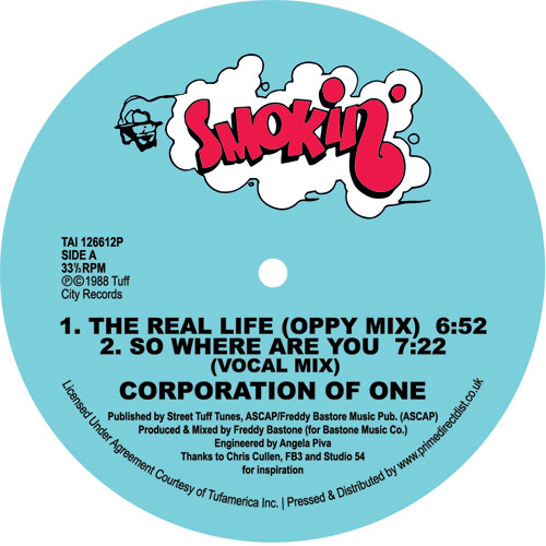 Corporation Of One/THE REAL LIFE 12""
