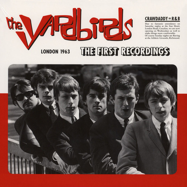 Yardbirds/FIRST RECORDINGS LONDON '63 LP