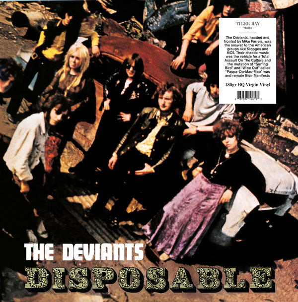 Deviants, The/DISPOSABLE (180g) LP