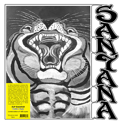 Santana/TIGER'S HEAD (WHITE) DLP