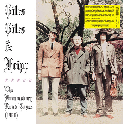 Giles Giles & Fripp/BRONDESBURY TAPES LP