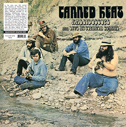 Canned Heat/KALEIDOSCOPE (LIVE) LP