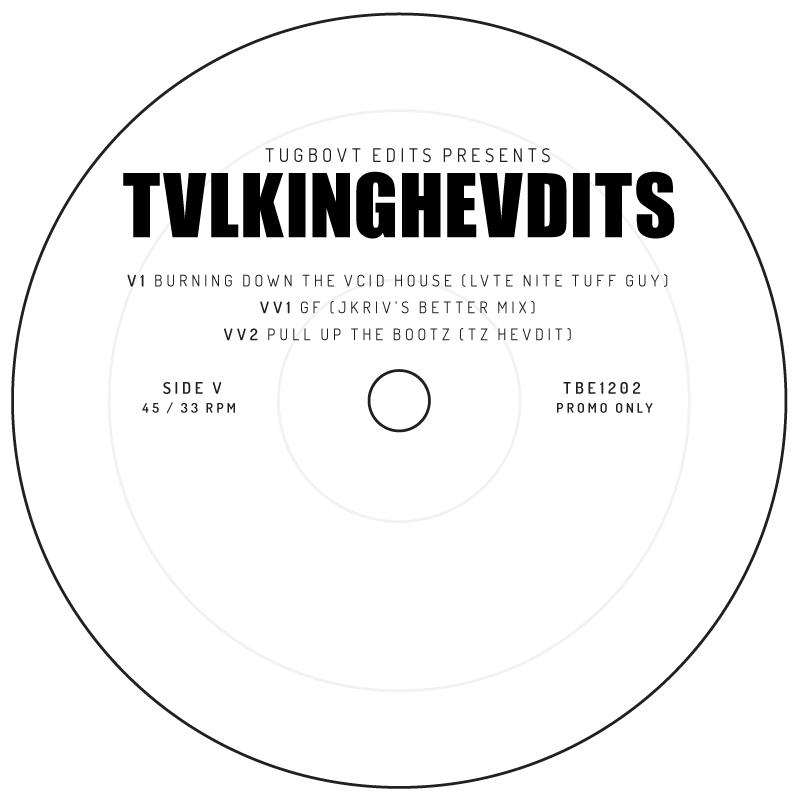 """Various/TVLKING HEVDITS 12"""""""