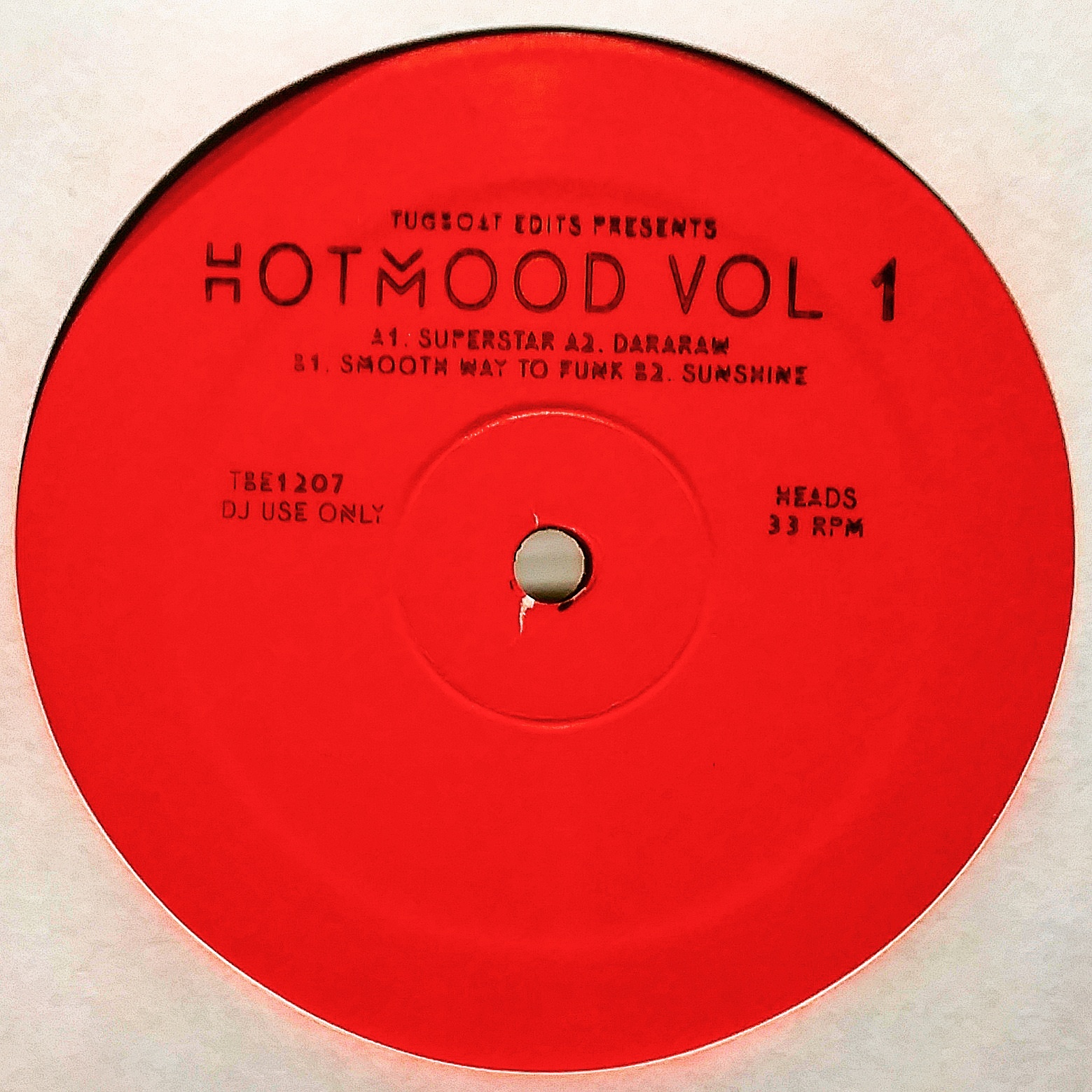 Hotmood/HOTMOOD VOLUME 1 12""