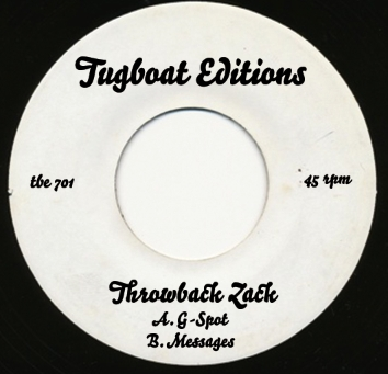 Throwback Zack/MESSAGES & G-SPOT 7""