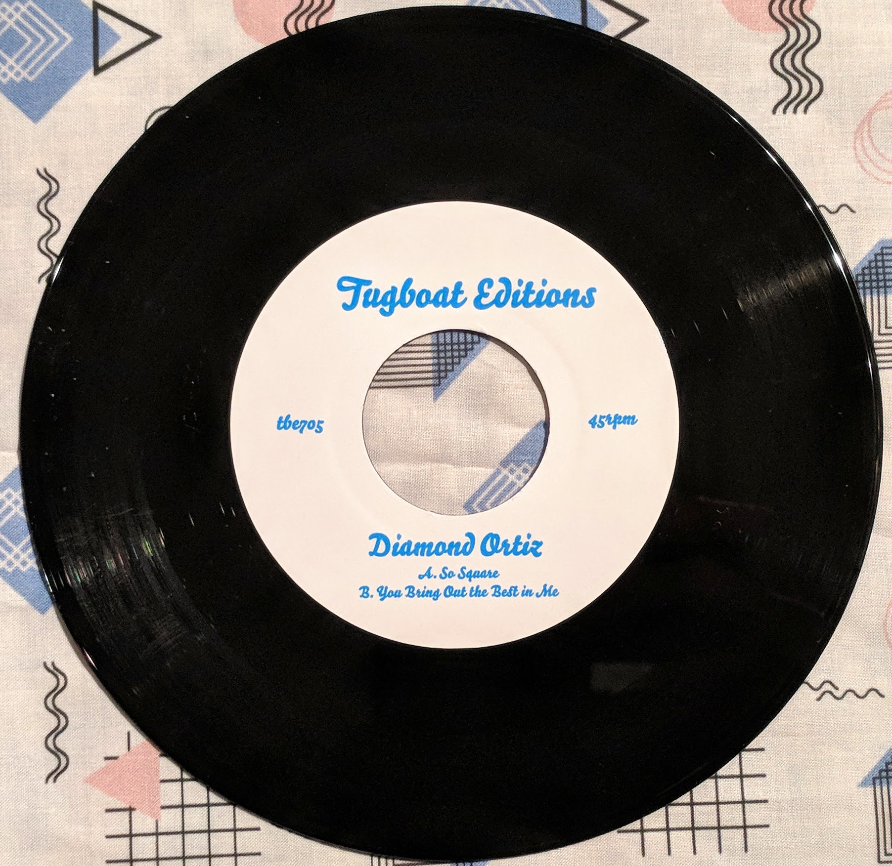 Diamond Ortiz/SO SQUARE 7""