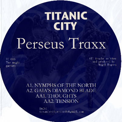 Perseus Traxx/THE MAGIC GARDEN EP 12""