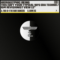 """Hieroglyphic Being/THIS IS 4 THE...12"""""""